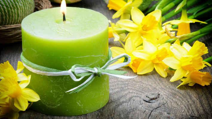 Зеленая свеча в магии