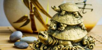 Тройная черепаха, приносящая счастье и деньги