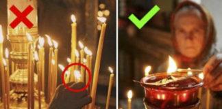 Почему нельзя поджигать свечу от рядом стоящей? Причина обескураживающая!