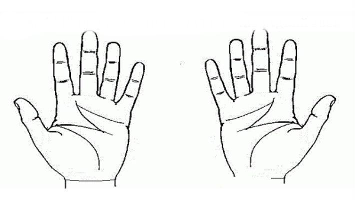 Есть ли у Вас буква «М» на руке? Тогда Вам повезло!