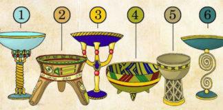 Перед вами 6 магических чаш! Из какой чаши выпили бы вы?