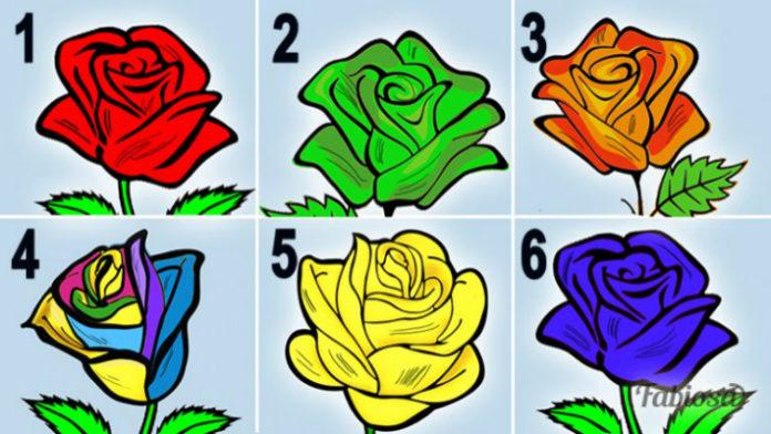 Выберите понравившуюся розу и узнайте секреты вашего характера