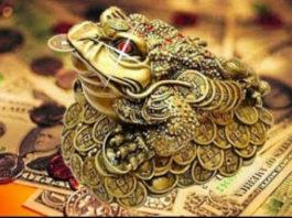 Денежная лягушка, которая привлекает деньги и достаток