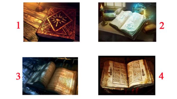 Выберите книгу и узнайте путь вашей души