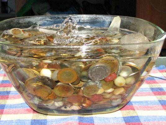 Фонтан богатства из обычной вазы