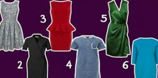 Выберите платье и узнайте кое-что интересное о себе