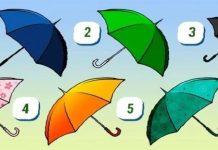 тест на характер по зонтику