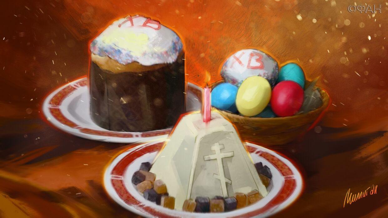 В Великий четверг хозяйки начинали готовить пасхальный стол